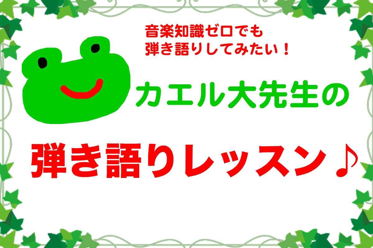 カエル大先生の弾き語りレッスン コンプリート版