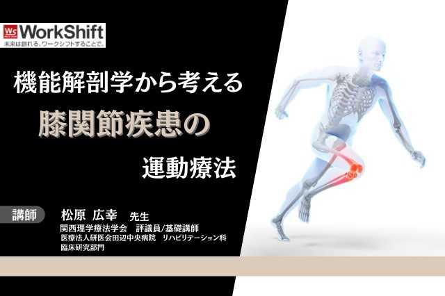 機能解剖から考える膝関節疾患の運動療法
