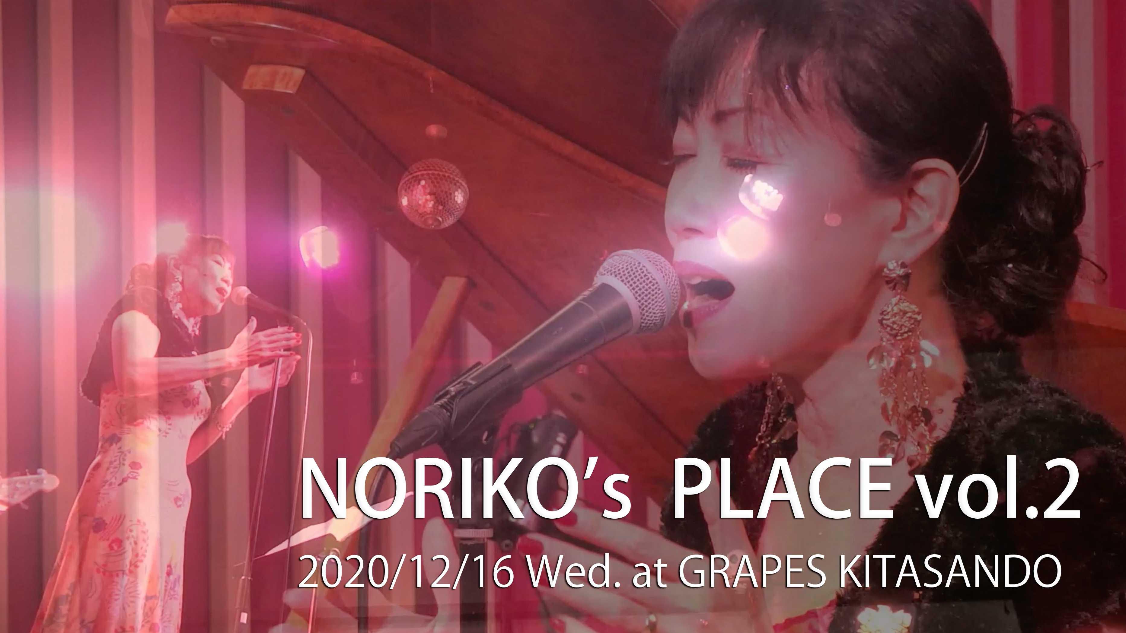 『NORIKO'S PLACE vol.2 』
